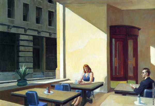 Sunlights in Cafeteria (Hopper)