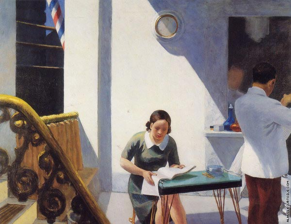 The Barber Shop (Hopper)