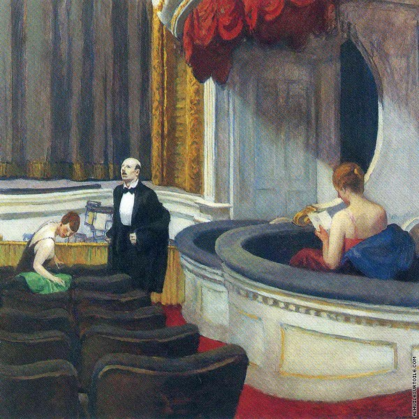 Two on the Aisle (Hopper)