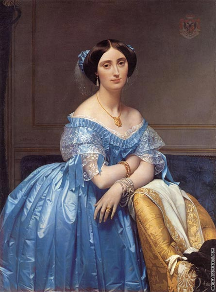 Princess Albert de Broglie (Ingres)