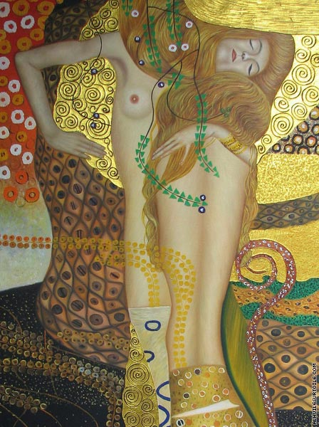 Serpents d'eau* (Klimt)