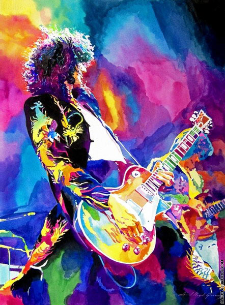 Jimmy Page - Riff Monolithique (L.Glover)