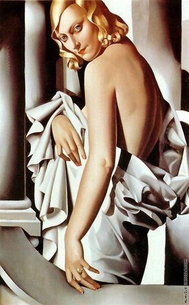 Portrait of Marjorie Ferry (Lempicka)