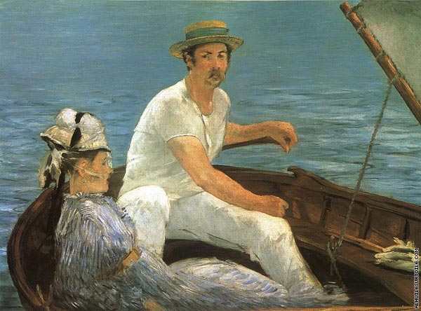 Canotage (Manet)