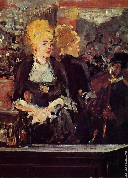 Study for Bar at the Folies-Bergere* (Manet)