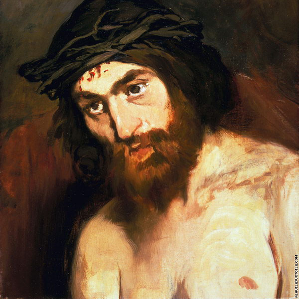 The head of Christ* (Manet)