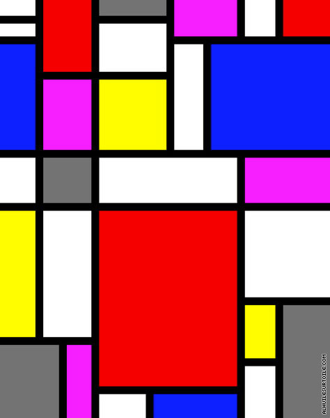 Composition 03 (Mondrian)