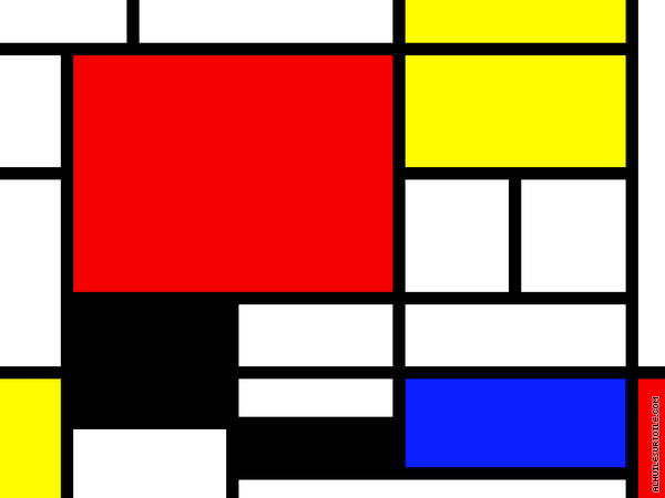 Composition 11 (Mondrian)