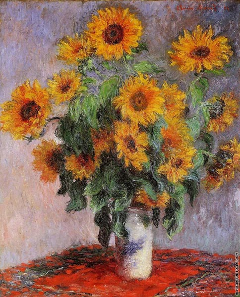 Bouquet de Tournesols (Monet)