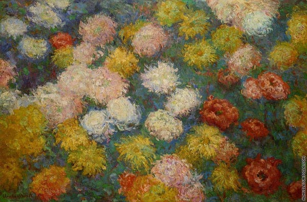 Chrysanthemums (Monet)