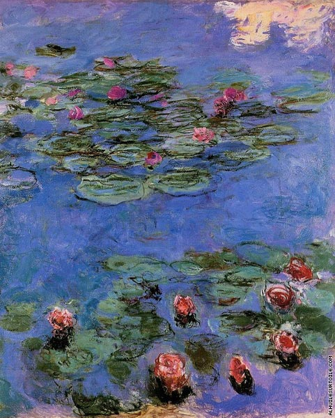 Red Water-Lilies (Monet)