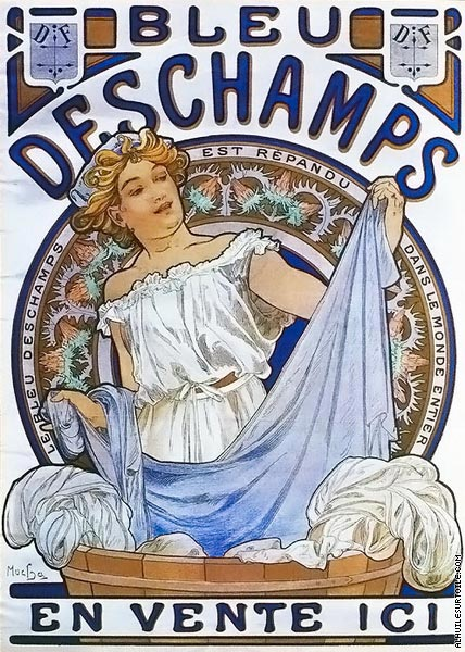 Bleu Deschamps (Mucha)