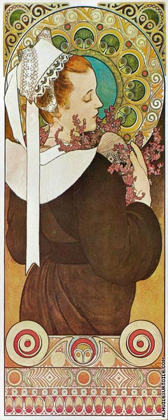 Heather Cliffs (Mucha)