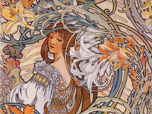 Floral Decoration 1 (Mucha)