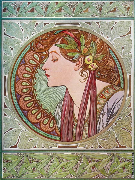 Le Laurier (Mucha)
