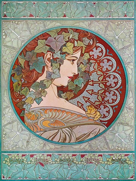Le Lierre (Mucha)