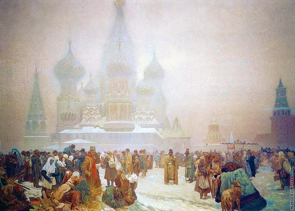 The Abolition of Serfdom in Russia (Mucha)