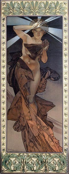 The Moon and The Stars - Morning Star (Mucha)