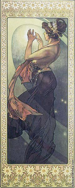 The Moon and The Stars - Pole Star (Mucha)