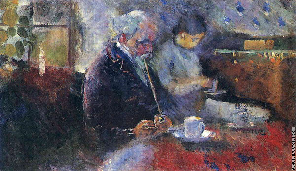 À la Table du Café (Munch)