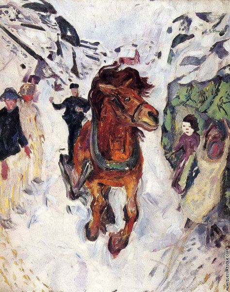 Cheval au Galop (Munch)