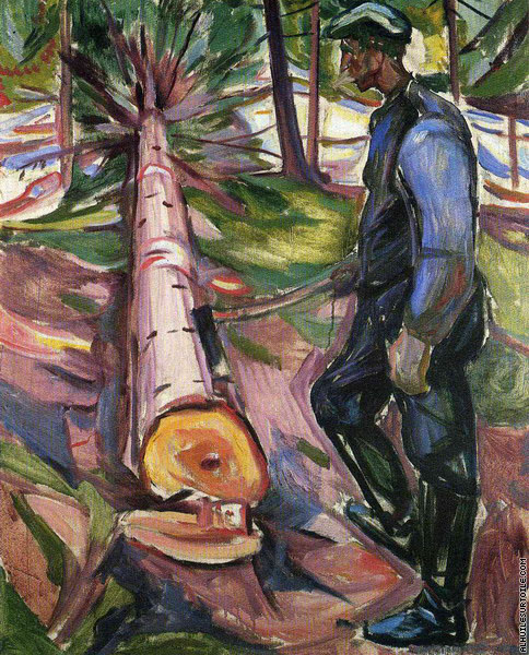 Le Bûcheron (Munch)