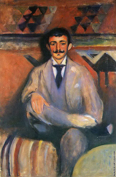 Le Peintre Jacob Bratland (Munch)