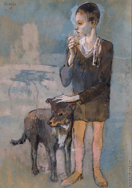 Boy with a Dog (Picasso)