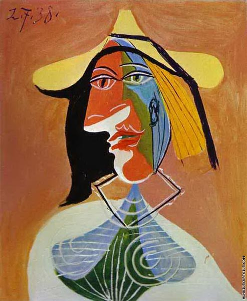 Portrait of a Young Girl 2 (Picasso)