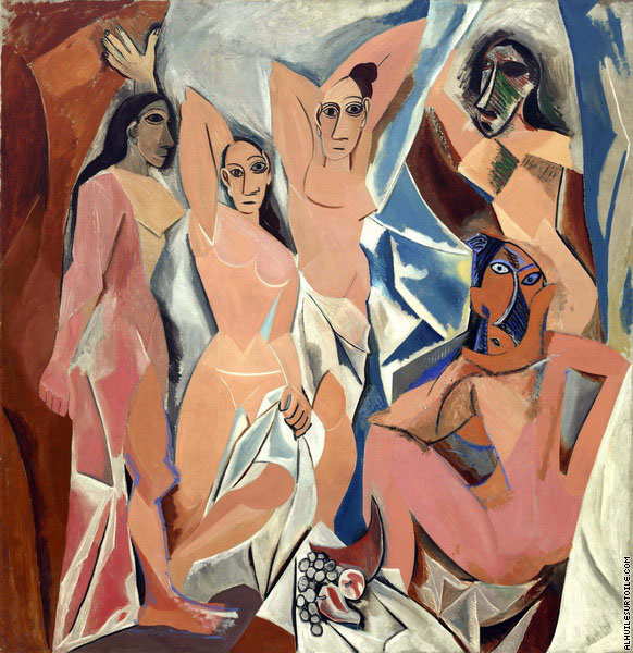 The young ladies of Avignon (Picasso)