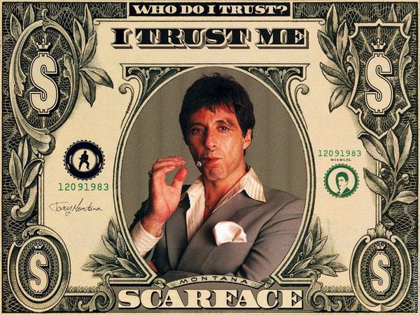 Dollar Scarface (Tony Montana)
