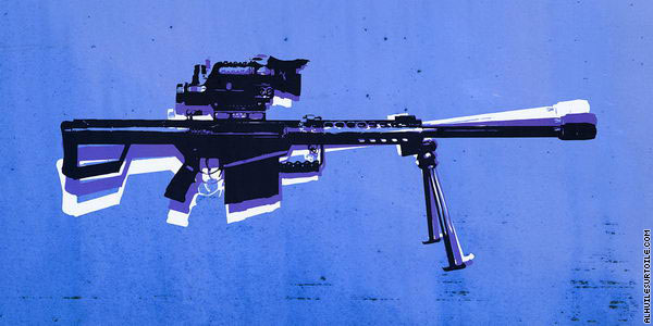 Fusil de Sniper M82 (Pop Art)