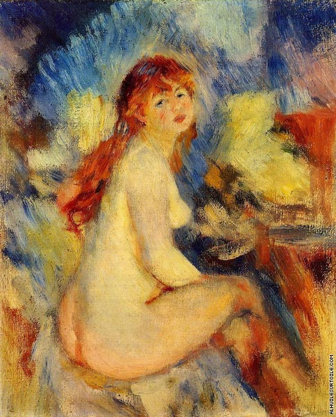 Bust of a Nude Female (Renoir)