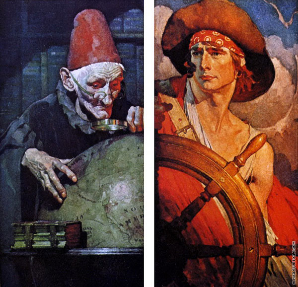 Aventuriers - Diptyque (Rockwell)