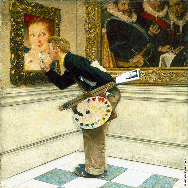 Critique d'Art (Rockwell)