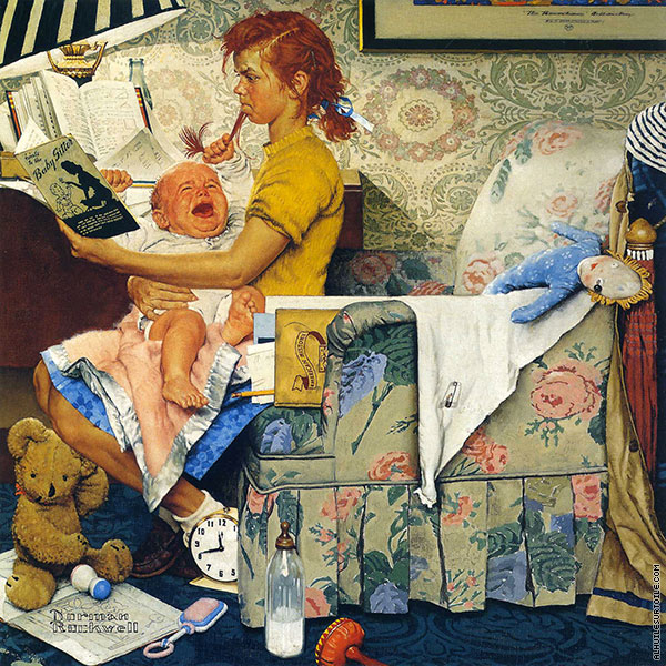 Baby-Sitter (Rockwell)
