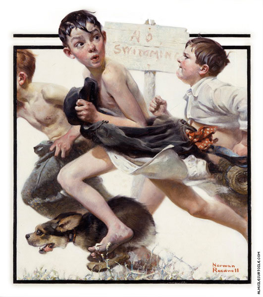 No Swimming (Rockwell)