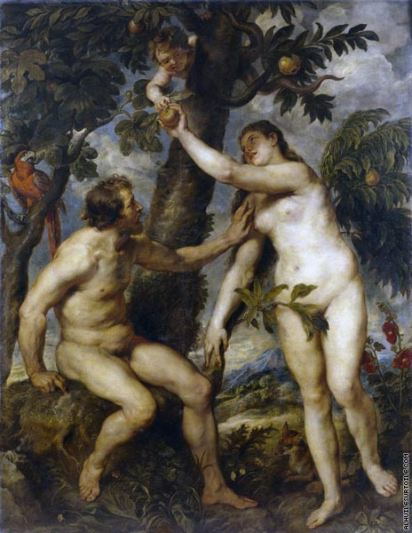 Adam and Eve (Rubens)