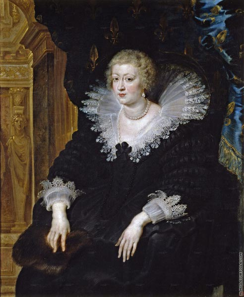 Anade of Austria - Wife of Louis XIII (Rubens)