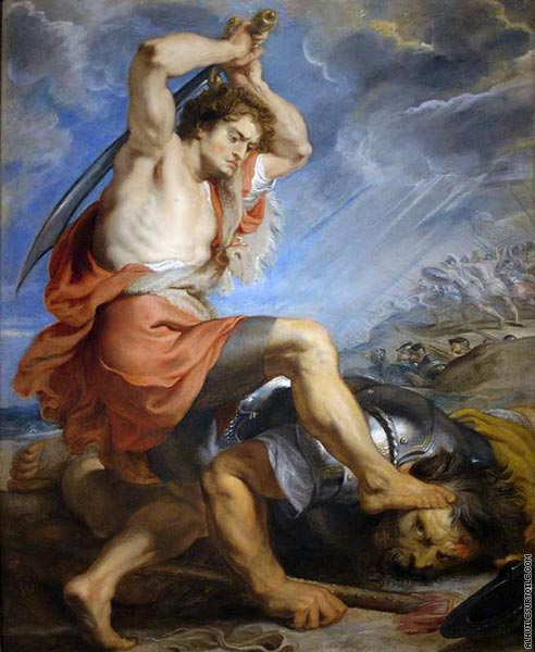 David contre Goliath (Rubens)