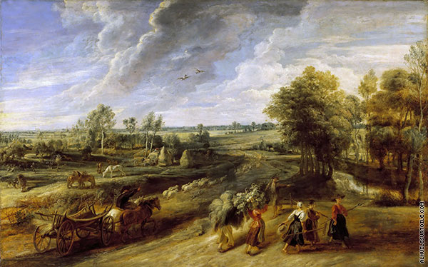 Return of the Farm Workers from the Fields (Rubens)