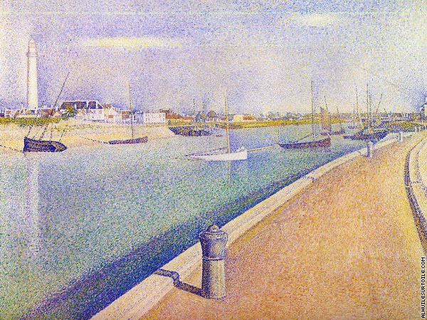 The Channel at Gravelines - Petit Fort Philippe (Seurat)
