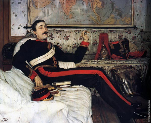 Colonel Frederick Gustavus Barnaby (Tissot)