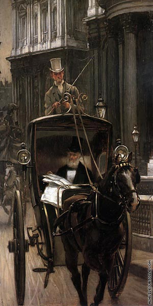 Going to the City (Tissot)