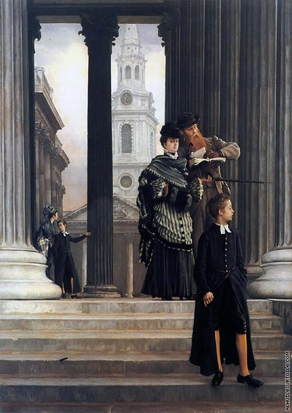 London Visitors (Tissot)