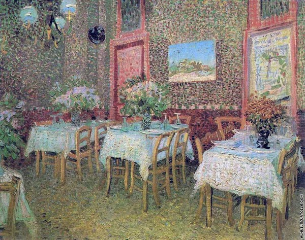 Interior of a Restaurant (Van Gogh)