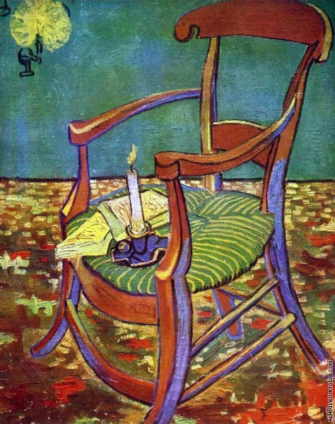 Paul Gaugain's Arm Chair (Van Gogh)