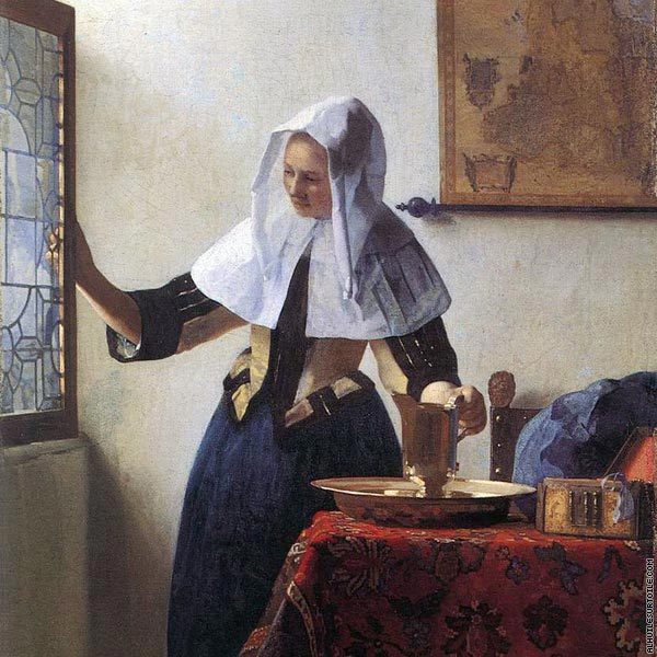 Young Woman with a Water Jug (Vermeer)