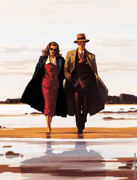 The road to nowhere (Vettriano)