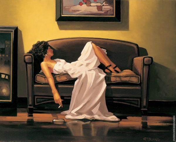After the thrill is gone (Vettriano)